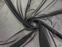 Сетка эластичная черная Lauma  (метражом)