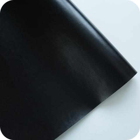 Кожзам переплетный глянцевый, черный
