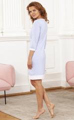 Vivamama. Платье домашнее Betty, крупная голубая клетка