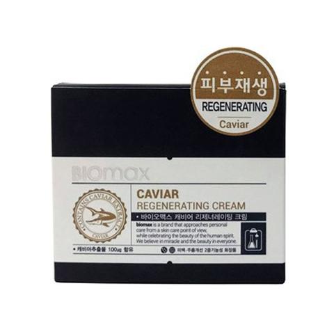 Biomax Крем для лица с экстрактом икры Caviar Regenerating Cream, восстанавливающий, 100 мл