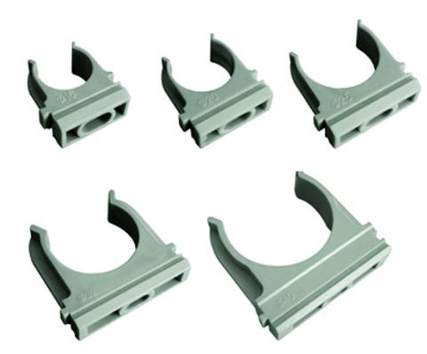 Крепеж-клипса для трубы 40 мм (30шт) TDM
