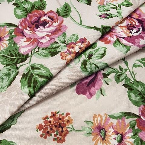 Рогожка 150 см Розалия 8121 цвет сиреневый