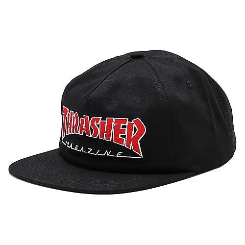 Кепка THRASHER Outlined Snapback (Black)
