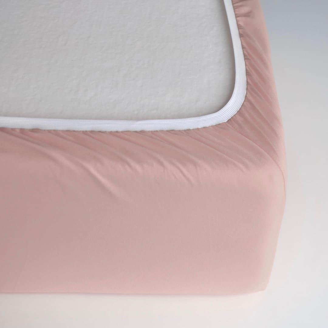 TUTTI FRUTTI пудровый - евро комплект постельного белья