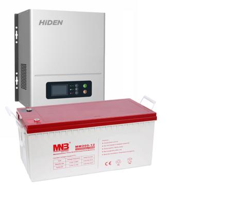 Комплект ИБП HPS20-1012N-АКБ MM200 (12в, 1000Вт)