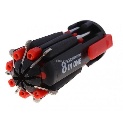 Набор отвёрток 8в1 с подсветкой FZ-895