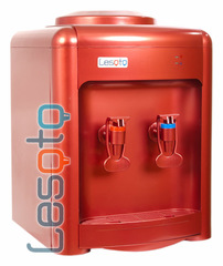 Кулер для воды LESOTO 36 TK red