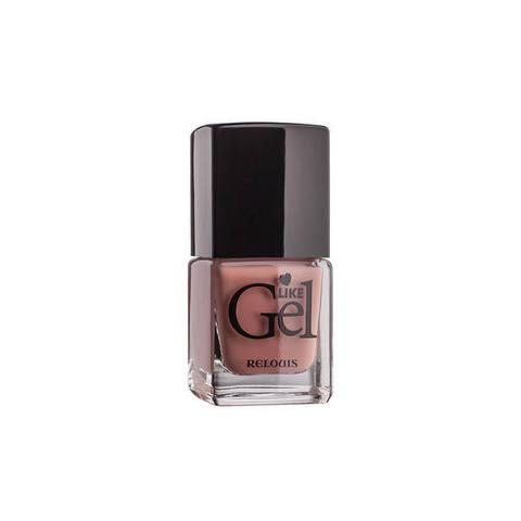 Лак для ногтей с гелевым эффектом Like Gel тон 05 Винтажный розовый