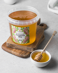 Натуральный акациевый мед HoneyForYou, 1400 грамм