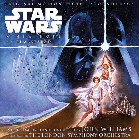 Виниловая пластинка. OST - Star Wars: A New Hope (John Williams)