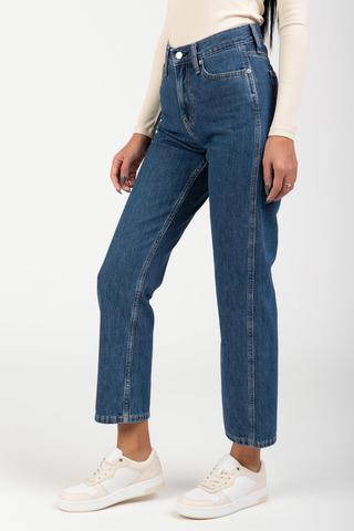 Джинсы HIGH RISE STRAIGHT ANKLE Calvin Klein Jeans