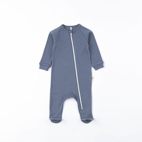 Zip-up sleepsuit 0+, Marengo