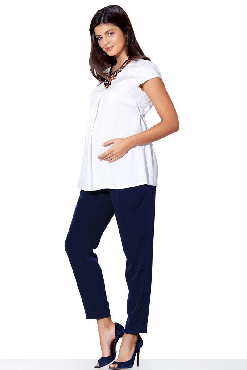 Брюки для беременных 02701 синий