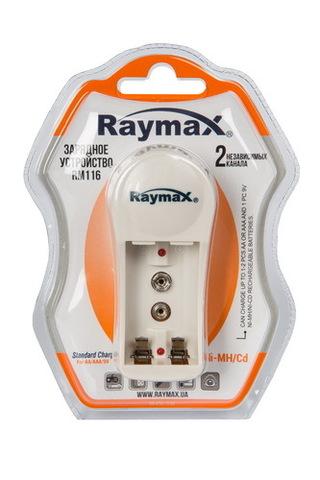 ЗУ Raymax RM-116 (1-2 АА, ААА, 9V) 120mAh/30mAh