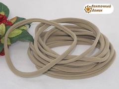Повязка бесшовная One Size серо-бежевая длина 14,5 см