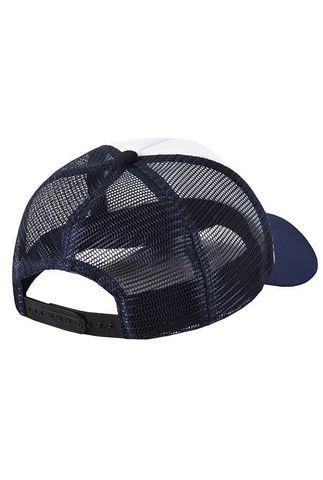 Бейсболка с сеткой темно-синяя фото 2