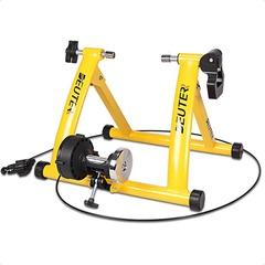 Портативный велотренажер-велостанок с 6 уровнями нагрузки, желтый