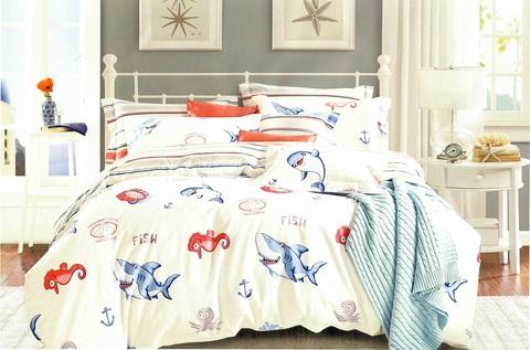 Подростковое постельное белье хлопок 1,5 сп.  SEARLE