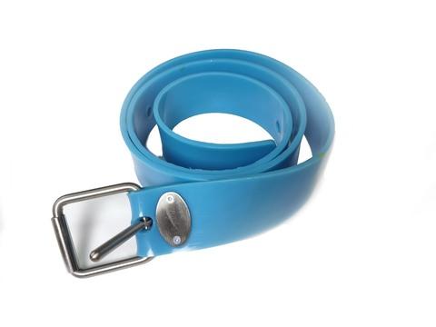 Ремень силиконовый марсельский синий