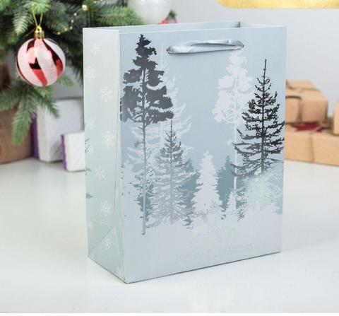 Подарочный пакет большой (лес)