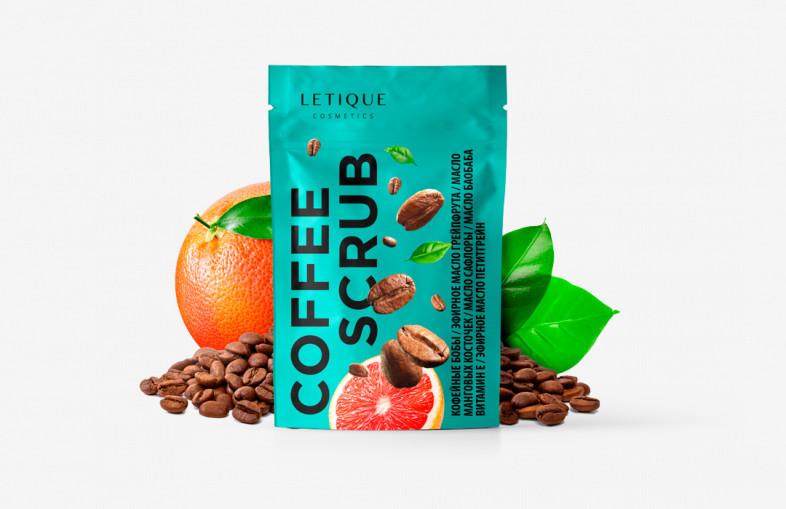 Скраб Letique Cosmetics Coffee Scrub 250 г.