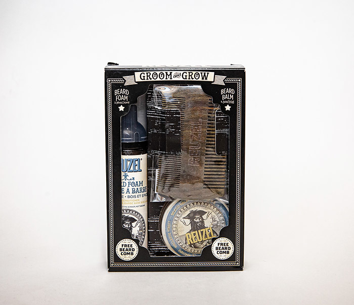 CARE171 Подарочный набор REUZEL для бороды (бальзам, расческа, кондиционер) фото 06