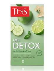 Чай зеленый Tess Get Detox 20*1,5г