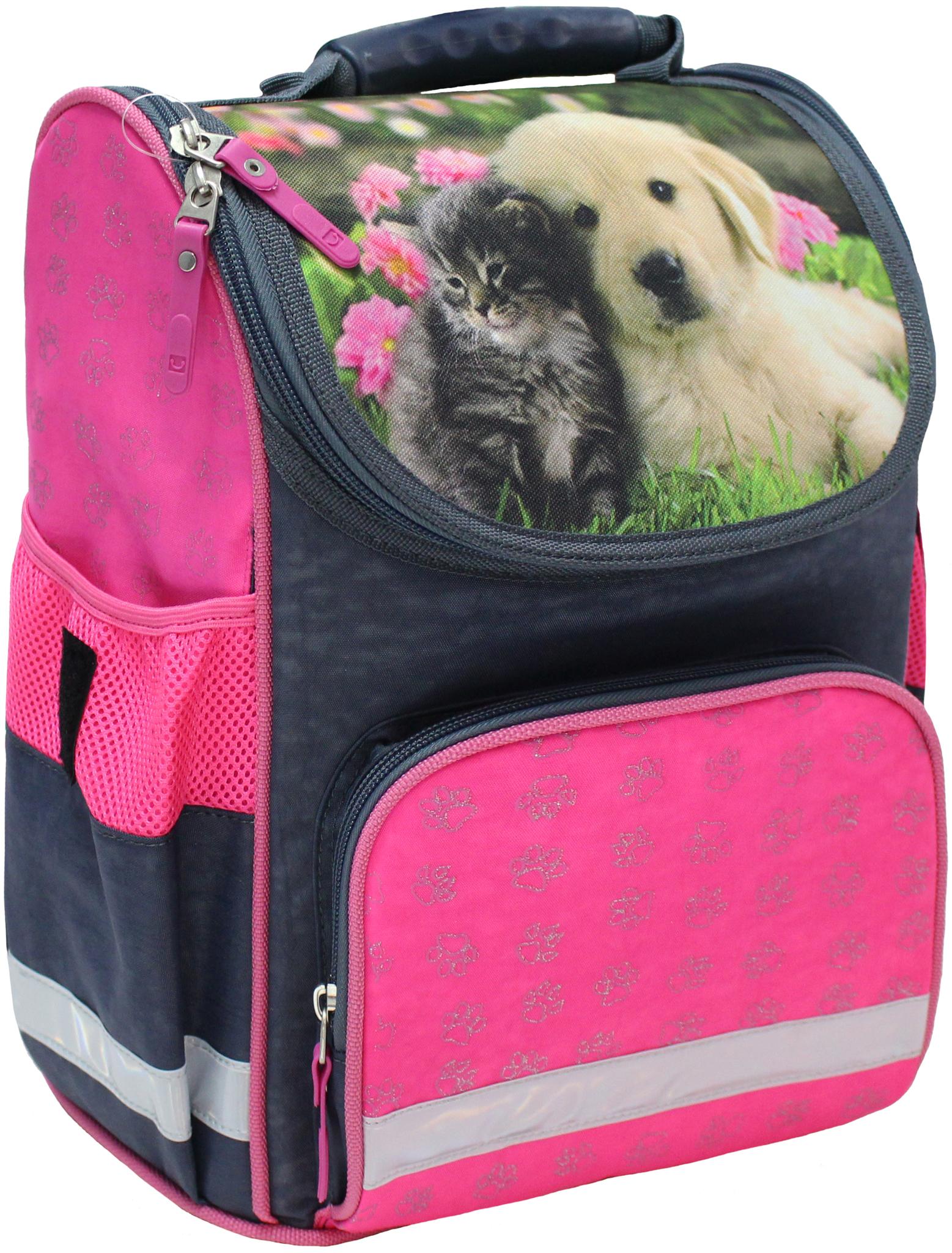 Школьные рюкзаки Рюкзак школьный каркасный Bagland Успех 12 л. серый 138д (00551702) IMG_4766.JPG