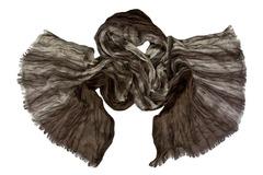 Шарф жатка коричневый 0479