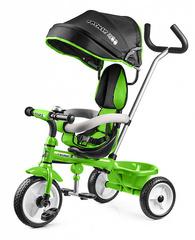 Детский трехколесный велосипед (зелёный)