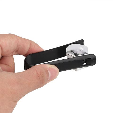 Колпачки хромированные пластиковые для болтов и гаек в блистере 20+1 ключ=17мм