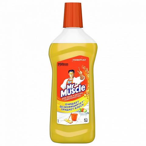 Универсальное чистящее средство Mr. Muscle жидкость 500 мл (отдушки в ассортименте)