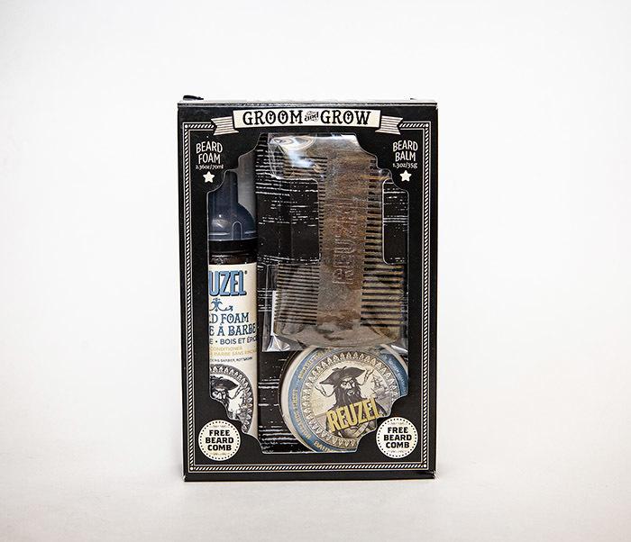 CARE171 Подарочный набор REUZEL для бороды (бальзам, расческа, кондиционер) фото 07