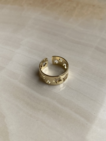 Кольцо Тарденоче, позолота