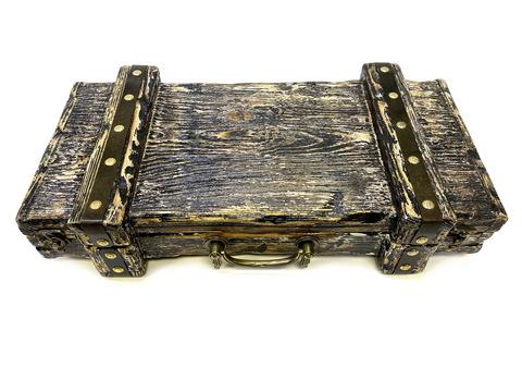 Подарочная шкатулка сундук для топора-3