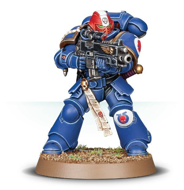 Миниатюра Primaris Intercessor Veteran Sergeant
