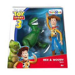 Toy Story 3 Rex & Woody Figures