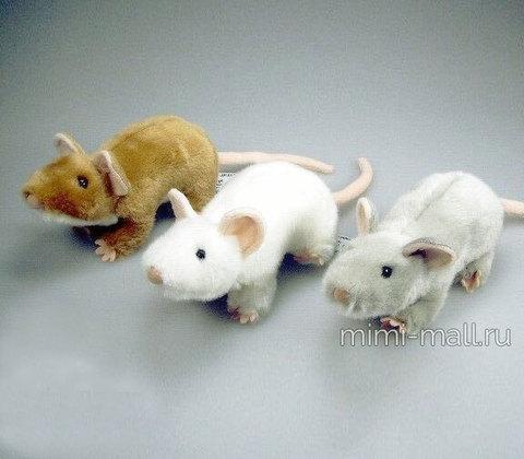 Мягкая игрушка Мышка 18 см (Leosco)