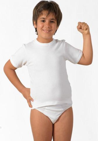 Утепленная футболка для мальчиков