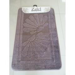 Коврик для ванны Zalel 55х90 см ворс, коричневый