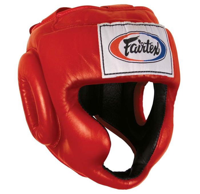 Шлемы Шлем Fairtex Headguard HG3 Red 1.jpg