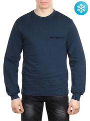 5140 толстовка мужская утепленная, синяя