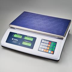 Весы электронные торговые настольные Delta до 50 кг ТВН-50