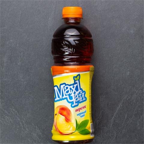 Чай холодный MAXI черный Персик 0,45 л КАЗАХСТАН