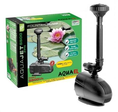 Насос для фонтанов и водопадов Aquael AquaJet PFN 5500