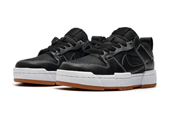 Nike Dunk Low Disrupt 'Black/White/Gum'