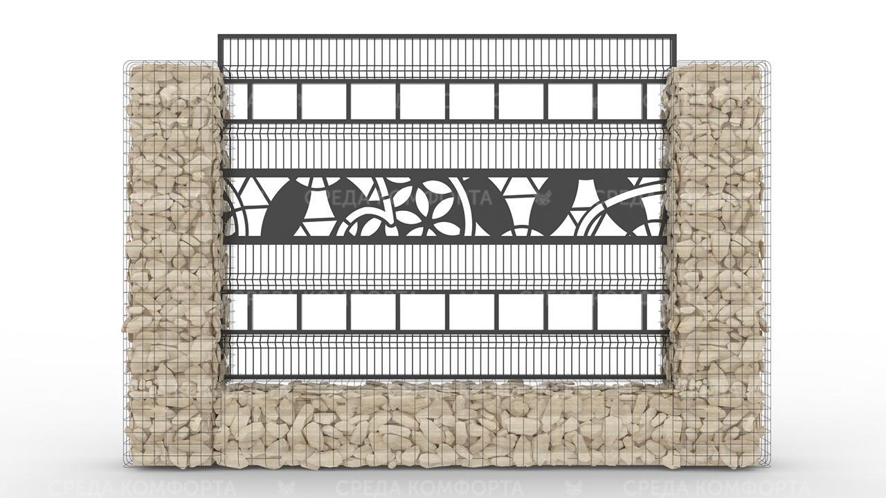 Забор 3Д ZBR0082