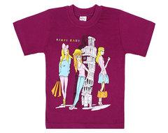 928-1 футболка детская, фиолетовая