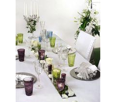 Sixties Lines Kiwi - Набор высоких стаканов из хрусталя, 2 штуки, 360 мл, фото 1