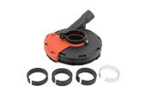 Защитный кожух для УШМ MESSER для шлифовки (модель А5). Диаметр шлифовальной чашки 125 мм.